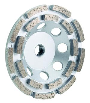 "ULTIMATE UCD DOUBLE ROW CUP WHEEL - 5/8"" - 11 THREAD"