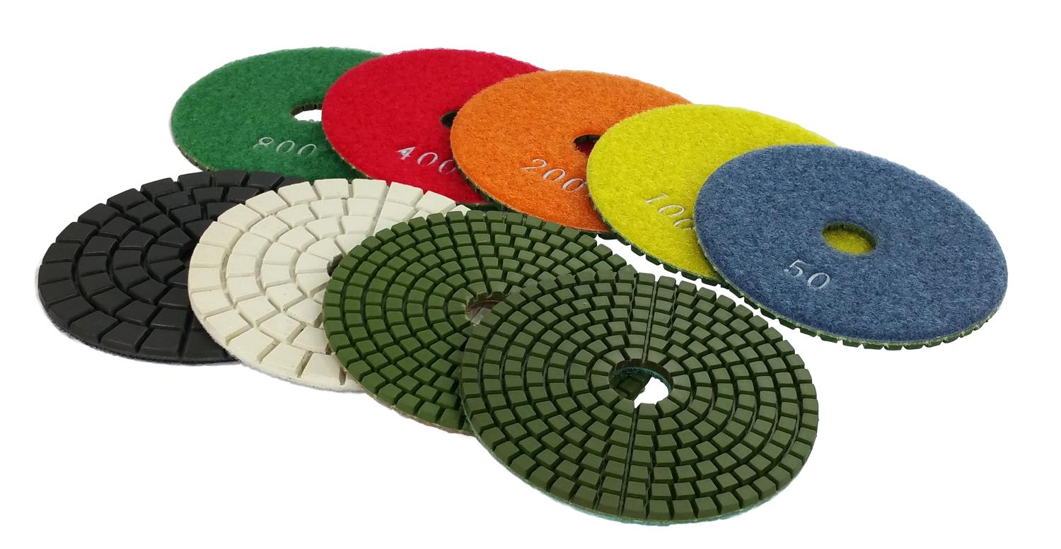 ULTIMATE WET 4'' POLISHING PADS