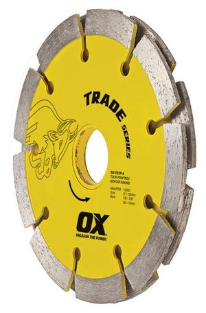 TRADE TDTP SANDWICH SEGMENTED DOUBLE TRUCK POINTING DIAMOND BLADE