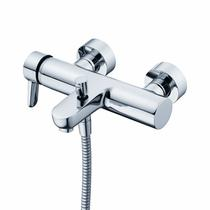 Image for Ideal Standard Concept Blue Single Lever Manual Bath Shower Valve Chrome