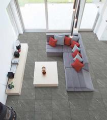 Image for Floor Tile Porcelain Extreme Dark Grey 600mm x 600mm BCT47308 4 Tile Per Pack
