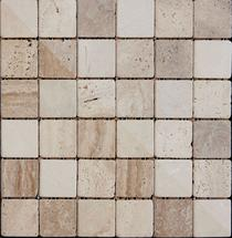 Image for Mosaics Naturals Buxton Marble Beige Sheet 302mm x 302mm Multi-Use Tile 11 Per Pack - BCT10340