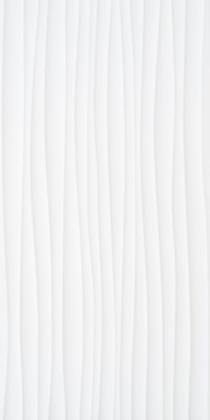 Image for Function and Form Wave White Gloss 248mm x 498mm Wall Tile 8 Per Pack - BCT19946