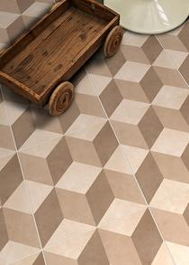 Image for Feature s Illusion Neutral 331mm x 331mm Floor Tile 9 Per Pack - BCT28727