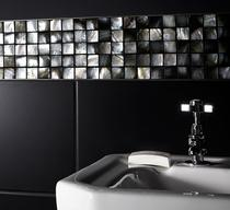 Image for Mosaics Luxe Mother Of Pearl Mosaic Dark 305mm x 305mm Wall Tile 10 Per Pack - BCT38566