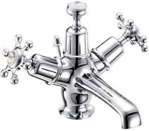 Image for Burlington Birkenhead Basin Mixer with Pop-up Waste - Chrome