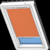 Image for Velux Electric Blackout Blind Orange - DML 4564