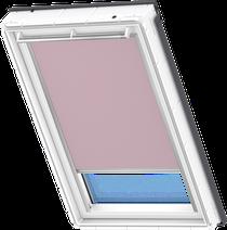 Image for Velux Electric Blackout Blind Pale Pink - DML 4565