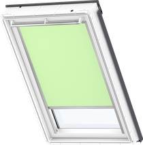 Image for Velux Electric Blackout Blind Pale Green - DML 4569