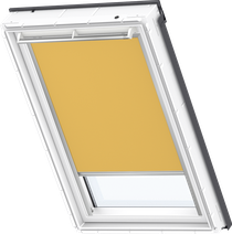 Image for Velux Electric Blackout Blind Curry - DML 4563