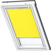 Image for Velux Electric Blackout Blind Bright Yellow - DML 4570