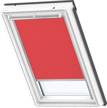 Image for Velux Electric Blackout Blind Flash Red - DML 4572