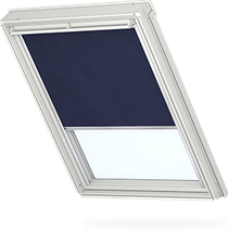 Image for Velux Electric Blackout Dark Blue Thermo Uni - DML 1100