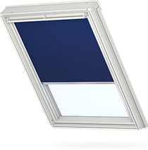 Image for Velux Electric Blackout Blue Thermo Uni - DML 2055