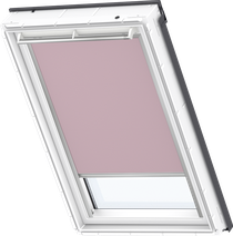 Image for Velux Blackout Blind Pale Pink - DKL 4565S