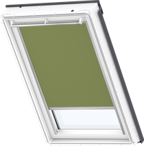 Image for Velux Blackout Blind Olive Green - DKL 4567S