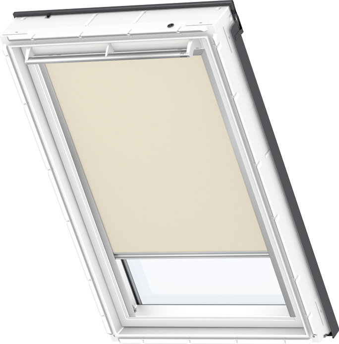 Velux solar blackout blind beige dsl 4556 velux blinds for Velux solar blinds