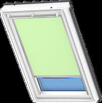 Image for Velux Solar Blackout Blind Pale Green - DSL 4569