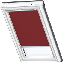 Image for Velux Solar Blackout Blind Dark Red - DSL 4560