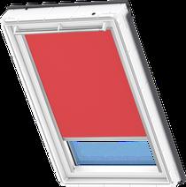 Image for Velux Solar Blackout Blind Flash Red - DSL 4572
