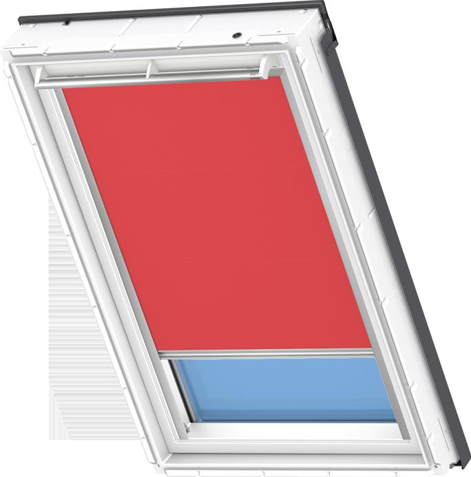 Velux Solar Blackout Blind Flash Red Dsl 4572 Velux