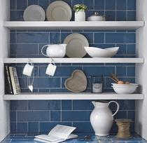 Image for Cookhouse Character Cornflower 100mm x 300mm Wall Tile 16 Per Pack - BCT23562