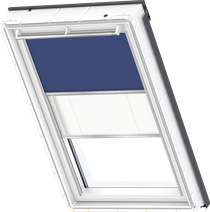 Image for Velux Duo Blind Blue / White - DFD 2055S