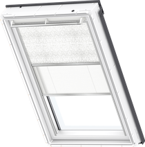Image for Velux Duo Blind Essential Pattern / White - DFD 4558S