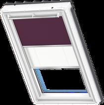 Image for Velux Duo Blind Dark Purple / White - DFD 4561S