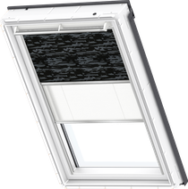 Image for Velux Duo Blind Dark Pattern / White - DFD 4562S