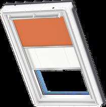 Image for Velux Duo Blind Orange / White - DFD 4564S