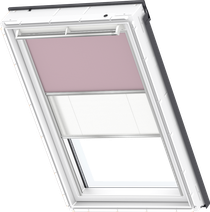Image for Velux Duo Blind Pale Pink / White - DFD 4565S