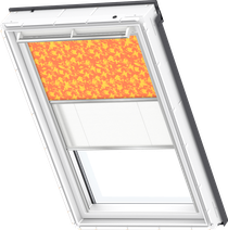 Image for Velux Duo Blind Vegetal Pattern / White - DFD 4568S