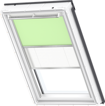Image for Velux Duo Blind Pale Geeen / White - DFD 4569S