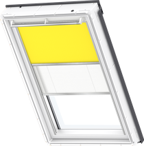 Image for Velux Duo Blind Bright Yellow / White - DFD 4570S