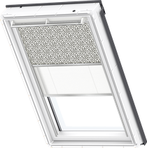 Image for Velux Duo Blind Graphic Pattern / White - DFD 4573S