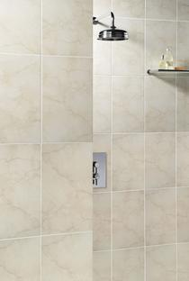 Image for Elgin Bathroom Wall Tile Marbles Crema Marfil 248mm x 398mm 10 Per Pack - BCT03649