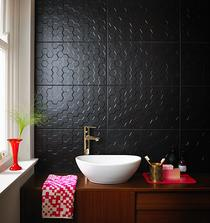 Image for Function and Form Hex Black Matt 298mm x 498mm Wall Tile 8 Per Pack - BCT42150