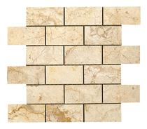 Image for Elite Stone Bali Cream Polished Brick Mosaic 305mm x 305mm Wall Tile 5 Per Pack - ISC2666