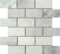 Image for Elite Stone Rice White Honed Brick Mosaic 305mm x 305mm Wall Tile 5 Per Pack - ISC2677