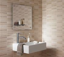 Image for Laura Ashley Malvern Beige Mosaic 248mm x 398mm Wall Tile 10 Per Pack - LA51270