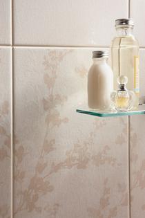 Image for Laura Ashley Wintergarden Floral Beige 248mm x 398mm Wall Tile 10 Per Pack - LA51140