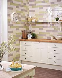Image for Laura Ashley Wood Effect Walnut 148mm x 498mm Multi-Use Tile 13 Per Pack - LA51768