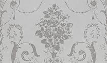 Image for Laura Ashley Josette White Decor Part A 298mm x 498mm Wall Tile 6 Per Pack - LA51690