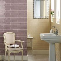 Image for Wall Tile Laura Ashley Artisan Amethyst 75mm x 300mm LA51836 22 Tile Per Pack