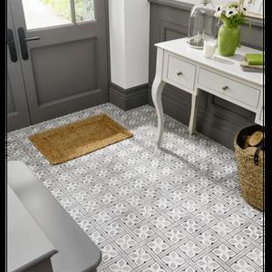 Image for Floor Tile Laura Ashley The Heritage Collection Mr Jones Charcoal 331mm x 331mm LA52000 9 Tile Per Pack
