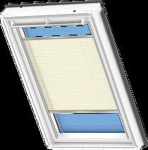 Image for Velux Pleated Blind Delightful Cream - FHL 1258S