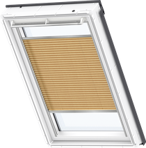 Image for Velux Pleated Blind Shiny Cappuccino - FHL 1264S