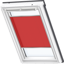 Image for Velux Pleated Blind Classic Red - FHL 1269S