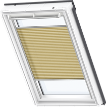 Image for Velux Pleated Blind Metallic Gold - FHL 1263S